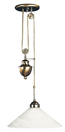 Marian plafonnier plafonnier la barre oscillante eszimmer lampe suspension à hauteur réglable