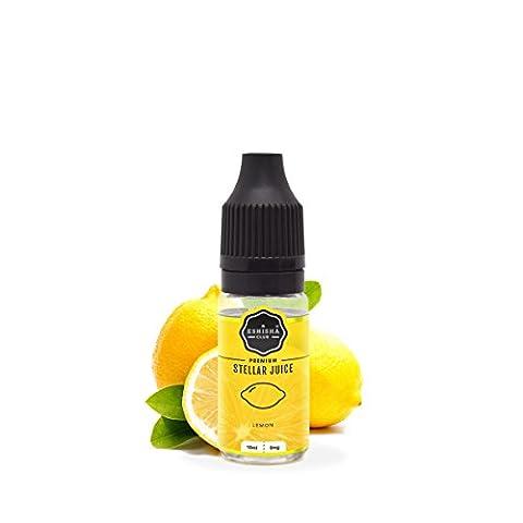KNUQO STELLAR Juice 10ml - Zitrone-Geschmack | e-Zigarette | Wiederaufladbare Elektronische Zigarette Liquid | Nikotinfrei | e Shisha | eShisha Club