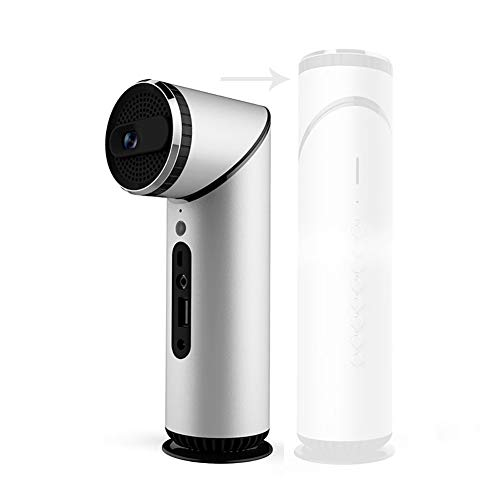 Mini Projektor Portable 90 Grad Objektiv Rotierenden DLP Projektor Wi-Fi Bluetooth Home Host Android