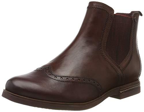 Tamaris Damen 1-1-25027-23 Chelsea Boots, Braun (Chestnut Comb 448), 39 EU