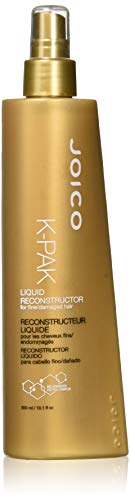 Joico K-Pak Liquid Reconstructor For Fine / Damaged Hair (New Packaging) 300Ml/10.1Oz by Joico (Joico Reconstructor K-pak Liquid)