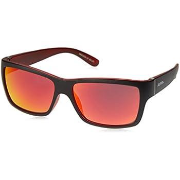 Alpina Sonnenbrille Sport Style KACEY, black matt-red, A8523334
