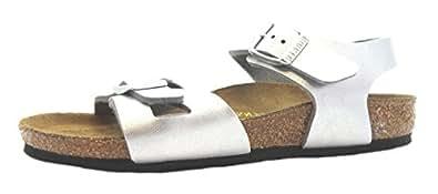 Size 1 Birkenstock Kid's Rio Kinder Birko-flor Sandals