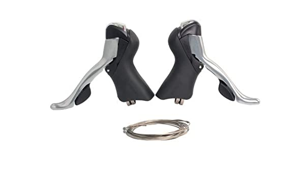 Double SHIMANO 10 Speed Tiagra ST-4600 Shifter//Brake Lever Set
