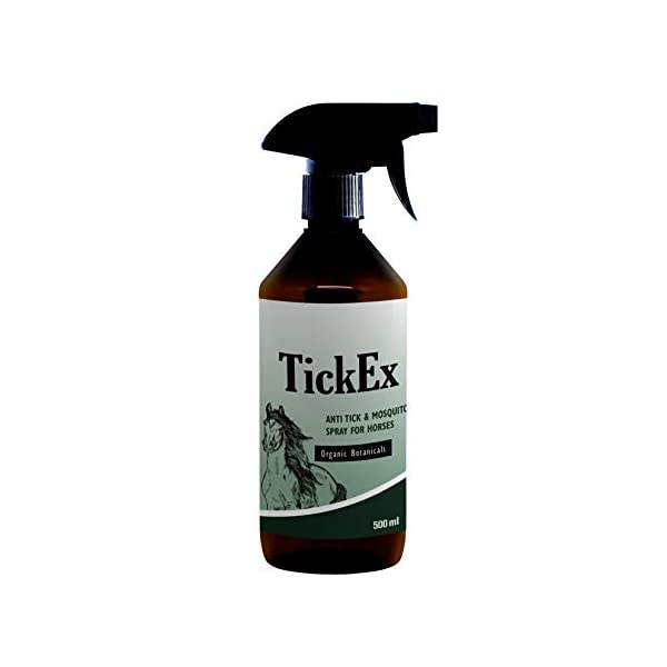 Flea and ticks repellent spray by TickEx | Flea treatment for cats, dogs & horses | Tick remover & flea spray 100ml | Flea treatment for the home 1