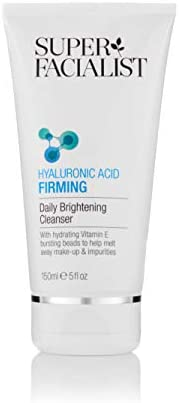 SUPER FACIALIST Hyaluronic Acid Firming Daily Brightening Cleanser, 150 ml
