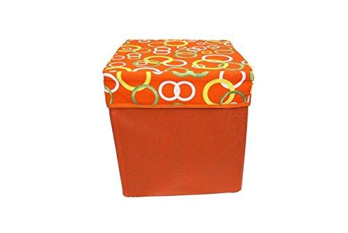 Boîte carrée 30 x 30 x 30 couleurs assorties