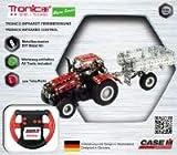 RC Traktor, Metallbaukasten, CASE IH MAGNUM,Traktor mit Anhänger, Infarotgesteuert, 451 Teile, Tronico, inklusive Werkzeug