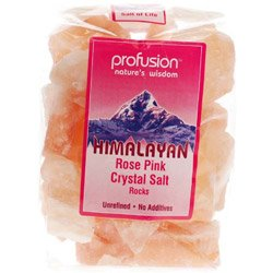 Profusion Himalayan Pink Salt Rocks 1000g x 1 by Profusion