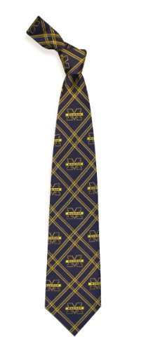 Eagles Wings Michigan Wolverines Woven Polyester 2 Tie by Eagles Wings Woven Polyester 2 Tie