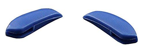 Blau 18 * 7 mm Kunststoff Anti-Rutsch-Brillen Nasen-Pad