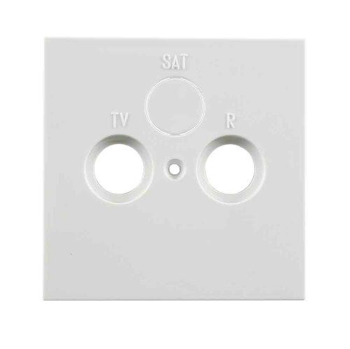 Preisvergleich Produktbild REV Ritter 0303746912 Fläche Abdeckung SAT-Antenne, weiß glänzend