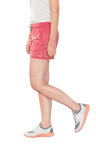 ESPRIT Casual Sports Baumwoll-Mix Shorts, Pantaloncini Sportivi Donna, Rosso (Berry Red 2 626), 40