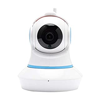 Hengz iHD 1080p 720P IP Kamera mit Motion Tracker / 2-Wege Audio/Nachtsicht/APP Fernbedienung, WiFi Indoor Home Security Dome Kamera für Babyphone/Elder/Pet Dog/Nanny Smart Kamera EU (720P)