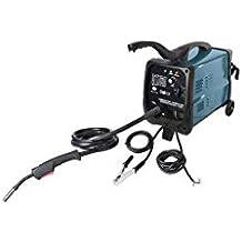 Silverline Tools 380736 MIG/MAG - Soldador de gas combinado 30-135 A,
