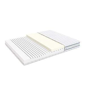 Alkove - Memoryschaummatratze mit 7 Zonen und Sanitized®-Bezug, 90 x 200 x 23cm