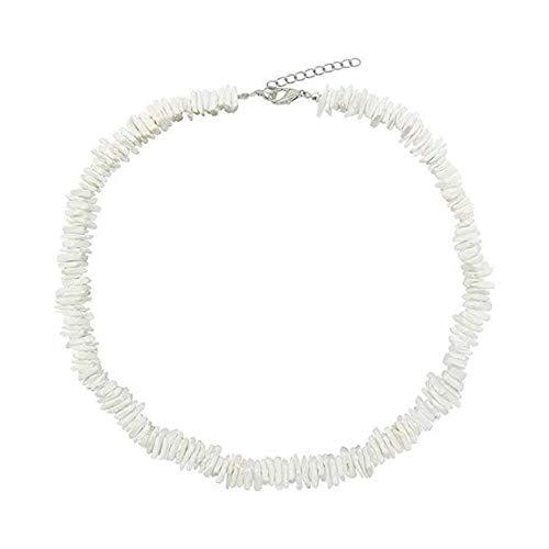 Handmade Beach Shell Halskette, Hawaiian Style Muscheln Halskette für Männer Frauen Mädchen Beach Parties Zubehör