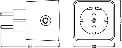 31hscENwr8L - [Reichelt.de] Osram SMART+ Plug für nur 19,95€