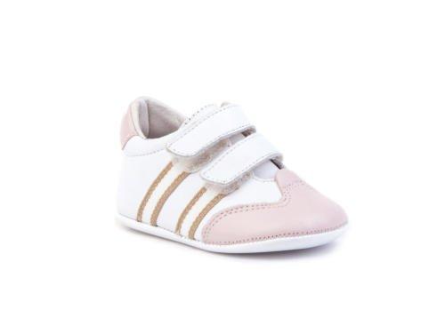 ANGELITOS , Chaussures souple pour bébé (garçon) Rose