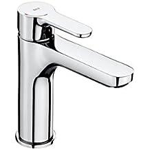 Roca L20 - grifo lavabo caño mezzo, cuerpo liso, L20, cromado . Griferías hidrosanitarias Monomando. Ref. A5A3I09C00
