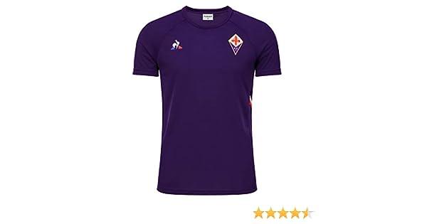 Maglietta Uomo le coq Sportif Fiorentina Training Tee SS M Cyber ...