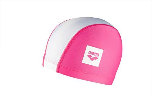Arena unix ii jr cuffia, unisex junior, pink/white, taglia unica