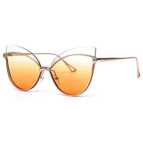 BAIF Mode Damen Sonnenbrillen, Shades Oversized Eyewear Klassische Designer Sonnenbrillen Fashion Style, UV400 Schutz, C - Rennen-auto-vorhänge