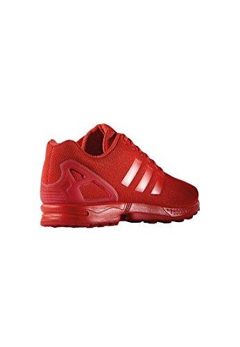adidas Zx Flux, Scarpe da Ginnastica Unisex – Adulto Rosso