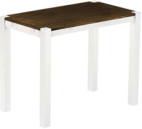 Brasil mobili alto tavolo 39 rio kanto 39 140 x 80 x 109 cm - Mobili legno bianco anticato ...