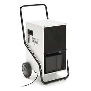 TROTEC TTK 350 S Déshumidificateur d'air, Déshumidificateur Electrique, Déshumidificateur Portable, Absorbeur d'humidité, Déshumidification max. 70 l/j, pour 180 m² max., Hygrostat intégré