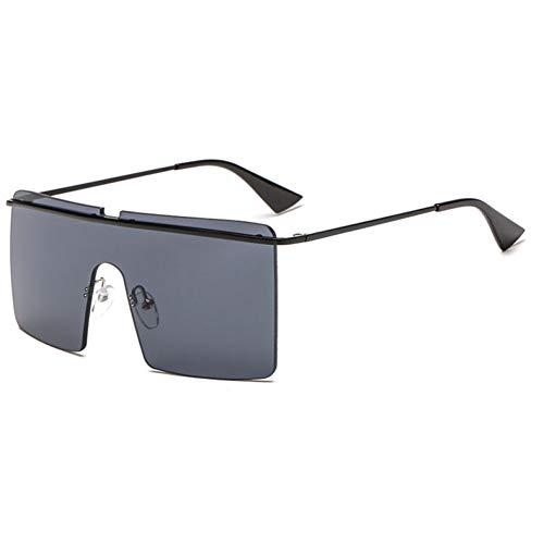 BUYAOAQ Frauen Rahmenlose Eckige Sonnenbrillen Gestalten Fuchsia Brillen Für Männer