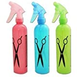 3 Pcs Set Empty Water Spray Bottle Hairdressing Hair Salon Tool
