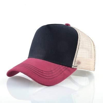 Lhbin Gorra de béisbol Bordada de 8 Colores Gorra de Rebote de Malla Transpirable para Hombres Sombrero...
