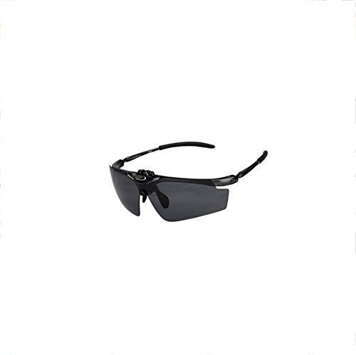 WDXGZY Reiten Outdoor Brille-Sportspiegel Sonnenbrille Brille Fahrrad Fahren Brille Winddicht Gläser