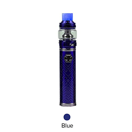 [Original Auf Lager] Eleaf iJust 3 mit ELLO Duro E Zigarette Akku 3000mAh 80W-ohne nicotin ohne tabak (Blau)