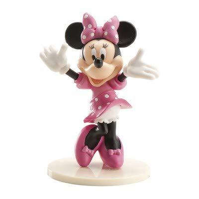 cakeware de tartas. Minnie Mouse producto oficial Disney Oficial. Dar sus pasteles con estilo con esta decoración para tarta (. Hacer sus pasteles el habla de la temporada de fiestas. No comestibles decoración. Puede colocarse directamente en superfi...
