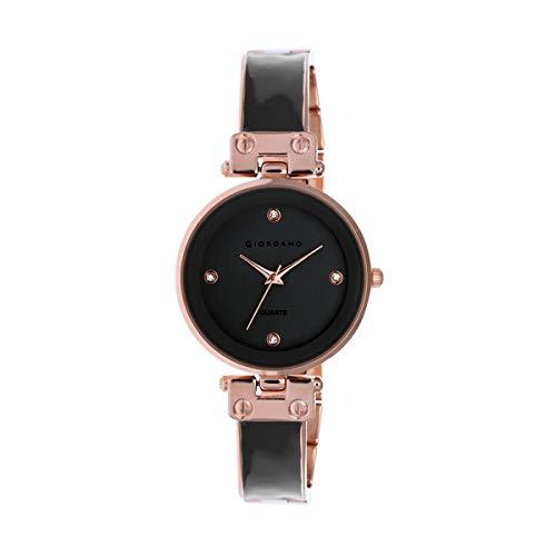 Giordano Analog Grey Dial Women's Watch-C2166-11