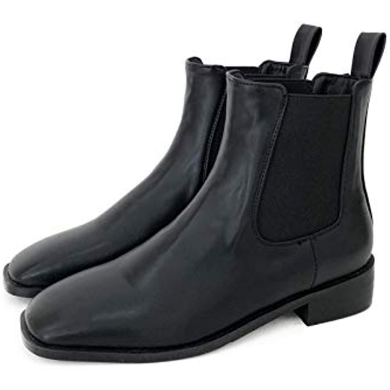 HOESCZS HOESCZS HOESCZS Bottes Martin Chaussures Femme Automne Et Hiver Nouveau Couleur Unie Bottines Agrave; La Mode Martin - B07K9SV8Y8 - 09eaf1