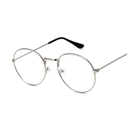 WERERT Sportbrille Sonnenbrillen Ocean Yellow Red Round Sun Glasses For Women Mirror Retro Ladies Small Sunglasses Women