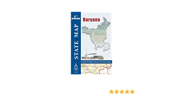 Amazon in: Buy Haryana State Map Book Online at Low Prices