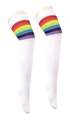 mosexuell Stolz Fancy Dress Zubeh�r Rainbow Hats Flaggen LGBT Parade Party Zubeh�r (Rainbow Reffree Sock) ()