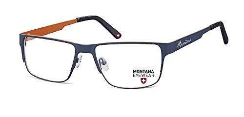 Montana -  Montatura  - Uomo blu Stainless Steel - MATT FISHING Blau + brick