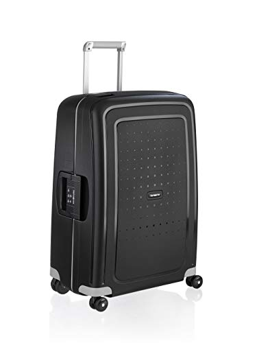 Samsonite S'Cure - Spinner M Valise, 69 cm, 79 L, Noir (Black)