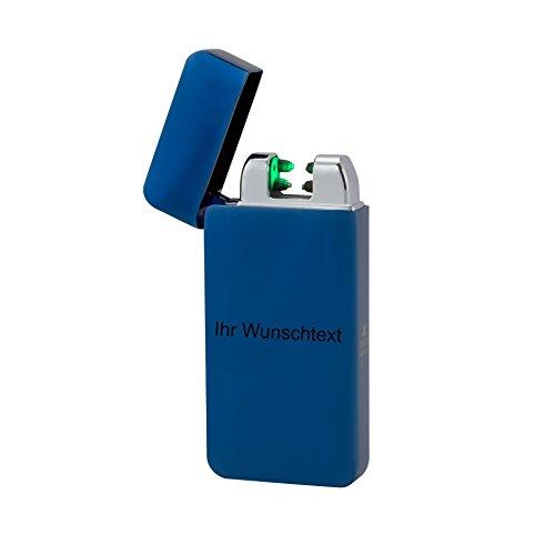 TESLA Lighter T10 | Lichtbogen Feuerzeug, mit Wunsch-Gravur, personalisiert als Geschenk zu Weihnachten, Geburtstag etc. Elektronisches Feuerzeug, wiederaufladbar per USB inkl. Geschenkverpackung