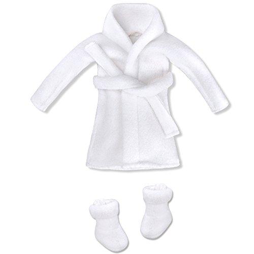 E-TING Santa Couture Kleidung für elf (Puppe ist Nicht enthalten) (Bademantel)