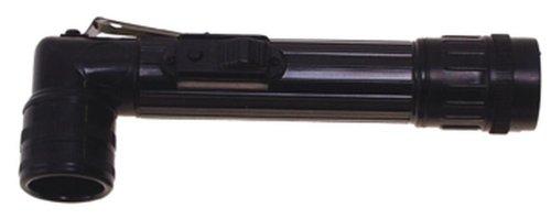 US Winkeltaschenlampe, mini, schwarz, mit Schutzbacken, versch. Farbfilter Schwarz