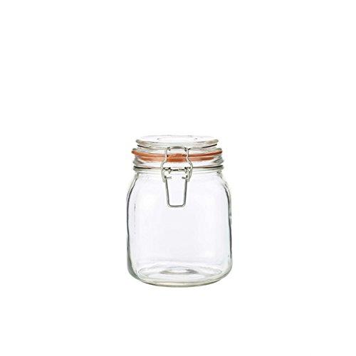 Genware nev-tj-1Glas Terrine Jar, 1l