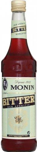Monin Bitter Sirup 0,7 Liter (Sekt Mit Fruchtsaft)