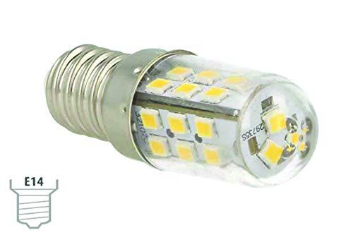 Lámpara Led E14 4W 12 V Luz Blanca Cálida 24