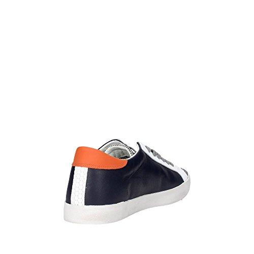 D.a.t.e. HILL LOW-100 Sneakers Uomo Blu
